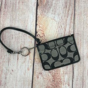 coach wallet keychain